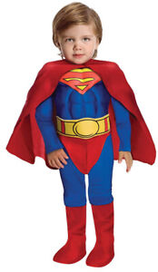 Toddler Superman Muscle Costume