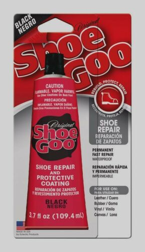 SHOE GOO Shoe Skate Repair Glue Adhesive Protective Coating Craft ~ 3.7 oz BLACK
