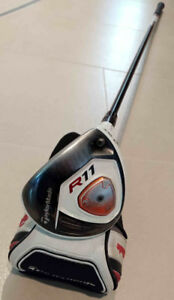 TaylorMade R11, Reg graphite shaft, Right Hand, with cover
