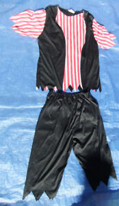 Adult Pirate Costume, Fits Small to Medium Size