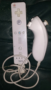 Wii Mote and Nunchuk ( 2 )