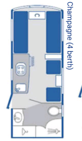Bailey Pageant Champagne 2009 series 7 4 berth