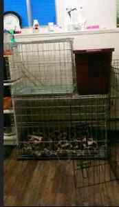 Selling small/medium wire kennel