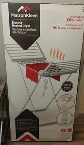 BNIB Electric Heated Clothes Dryer Rack