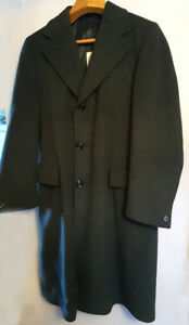 MAN'S WOOL COAT / MANTEAU LAINE - (3  saisons/seasons)