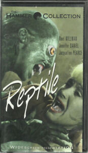 THE REPTILE The Hammer Collection Vintage VHS Horror Movie 1997