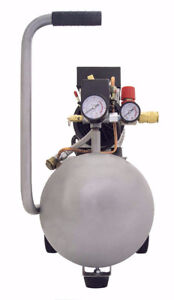 Compresseur Ultra Quiet and Oil-Free 1.0-HP 5.5-Gallon AMAZON