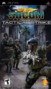 Socom: Tactical Strike PSP Sony PSP Game