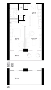 1 bedroom condo university of waterloo - Wilfred Laurier