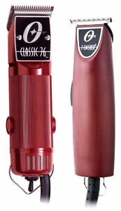 OSTER Classic 76 Clipper + T-Finisher Trimmer Combo NIB