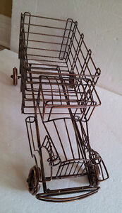 Metal Wire Truck Wine Champagne Bottle Holder London Ontario image 4