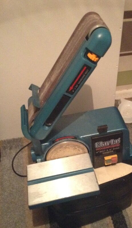 Clarke CS4-6D Belt and Disc Sander