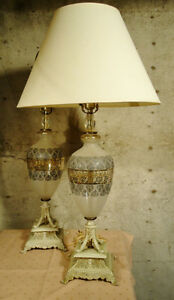 PAIR OF DESIGNER TABLE LAMPS & MORE LAMPS West Island Greater Montréal image 2