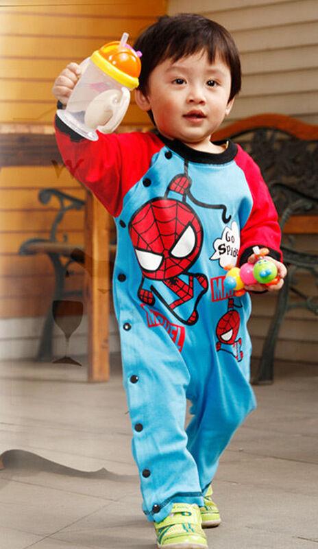 Boy's Spiderman Jumpsuit