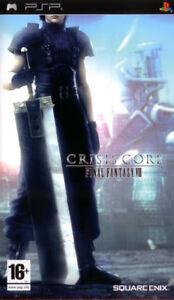 PSP Final Fantasy VII Crisis Core