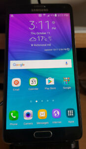 Samsung Galaxy note 4 unlocked with stylus pen