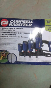 4 piece brand new air gun