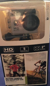 ie essentials Action Camera with Waterproof Case