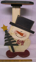 snowman small table