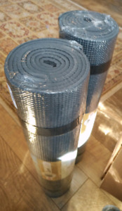 """(New) Eco Yoga Mat Studio Quality, Double 6mm Thick, 72"""" Long"""