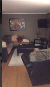 Spacious Furnished Upstairs 3 Bedroom Apartment:RoommateWanted
