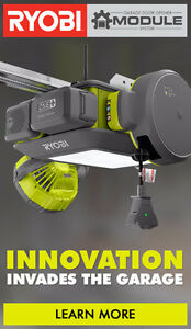 Ryobi - ULTRA-QUIET GARAGE DOOR OPENER
