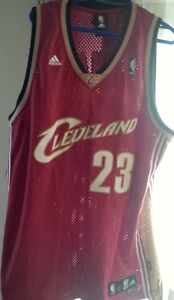 xxl tall Lebron James Cavaliers rookie year style jersey