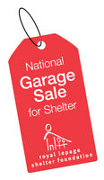 Annual Garage Sale for the Women's Shelter at Royal LePage Frank