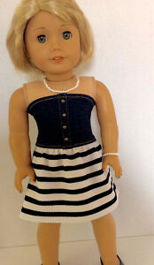 18 inch doll dress will fit American Girl or similar St. John's Newfoundland image 2