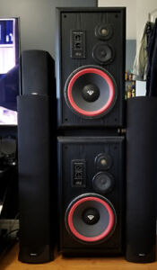 Cerwin Vega AT-12 Speakers (2 pairs available)
