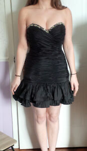 Robe de Bal Noire - Black Prom Dress