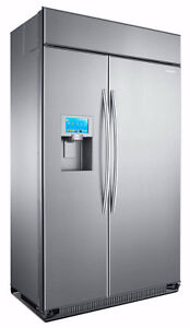 """BRAND NEW - Samsung 48"""" Built in Side by Side Refrigerator."""