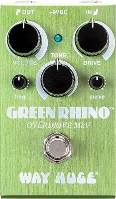 Way Huge WM22 Smalls Green Rhino MKV Overdrive Pedal
