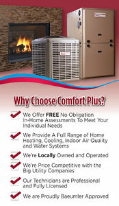 Furnaces - Fireplaces - Air Conditioners and more! Comfort Plus