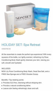 Seacret Spa Retreat Raffle/shopping spree