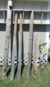 Wood Fence Posts and metal posts Sussex