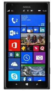 Nokia Lumia 1520 - Cracked screen, unlocked, plus accessories