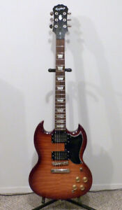 Epiphone SG with Seymour Duncan Pickups