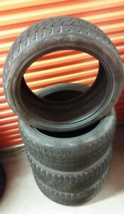 (H62) Pneus Hiver - Winter Tires 275-40-20 Bridgestone 7-8/32