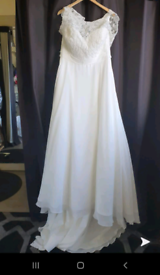 Wedding Dress Size 18 Immaculate Condition