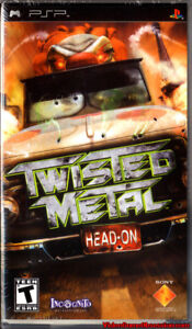Twisted Metal Head-On PSP GAME with Booklet & Case