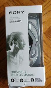 Sony - AS210 Sport Earbud Headphones - Black Like New
