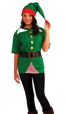 JOLLY ELF COSTUME, UNISEX CHRISTMAS FANCY DRESS COSTUME, - Jolly Santa Kostüme