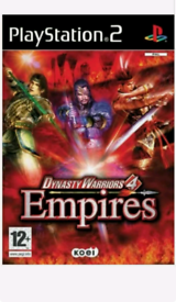 Dynasty Warriors 4: Empires (Sony PlayStation 2, 2004) PS2 Video Game