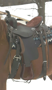 Beautiful saddle set