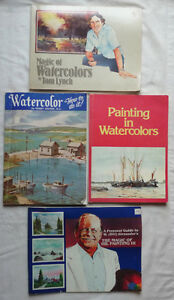 4 books about how to paint in watercolor and oils Oakville / Halton Region Toronto (GTA) image 1