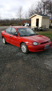 1998 Dodge Neon **Only 55000km!** Sell or Trade