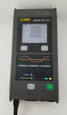 Aemc Pel 103 - 3 Phase Power Data Logger With Software