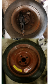 2x Spare Wheels Taken Out Of Two Honda Civics 2005