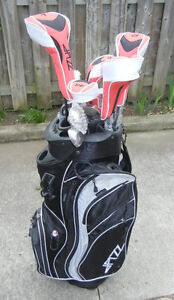 GOLF CLUBS WITH BAG - JAZZ FURY - COMPLETE NEW